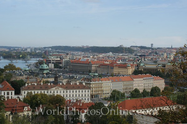 Prague - Prague Castle - Lobkowicz Palace - View of Prague from Balcony