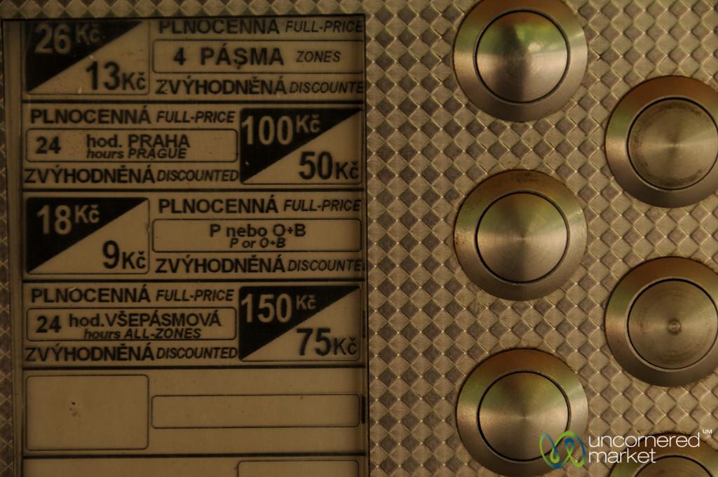 Transport Tickets in Prague, Czech Republic