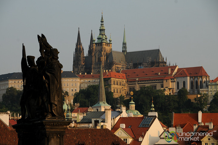 Early Morning View of the Prague Castle - Czech Republic