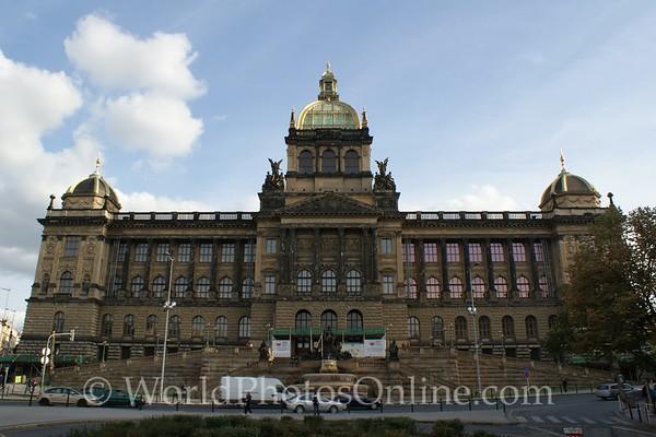 Prague - Wenceslas Square - Czech National Museum
