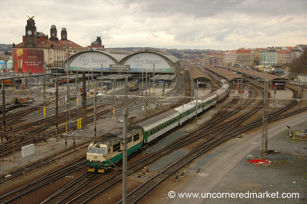 Prague's Main Train Station - Czech Republic
