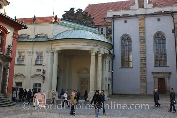 Prague - Prague Castle - Classical Building