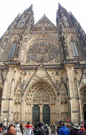 Prague - Prague Castle - St Vitus Cathedral 2