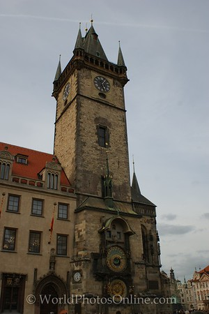 Prague - Old Town Square - Old Town City Hall - Astronomical Clock