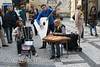 Prague - Old Town Square - Buskers 1