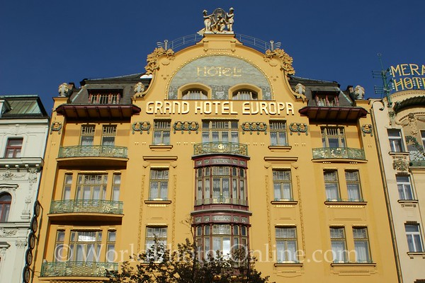 Prague - Wenceslas Square - Building 1