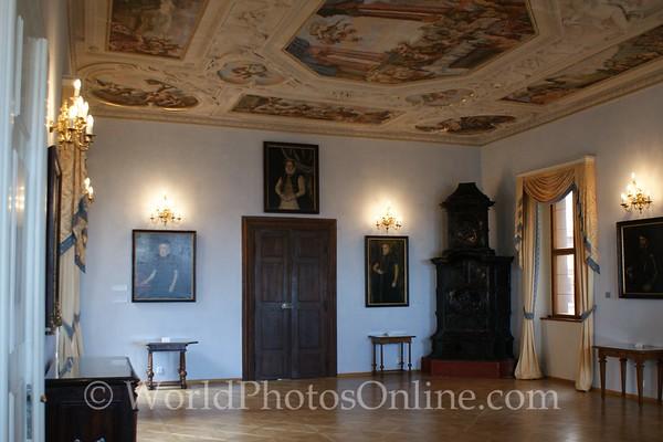 Prague - Prague Castle - Lobkowicz Palace - Reception room