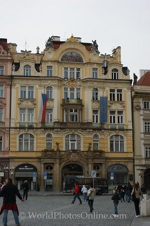Prague - Old Town Square - Ministry Building