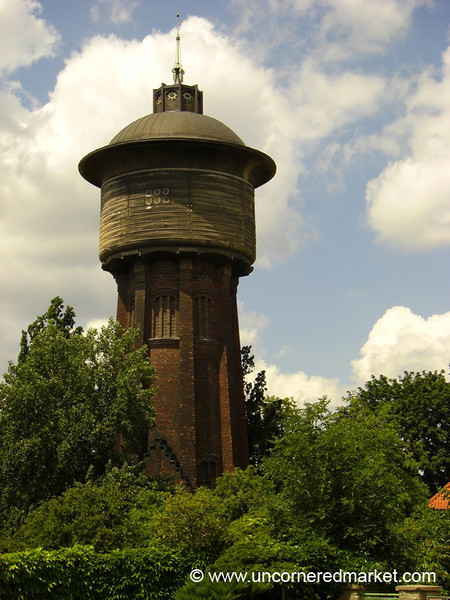 Water Tower - Prague, Czech Republic