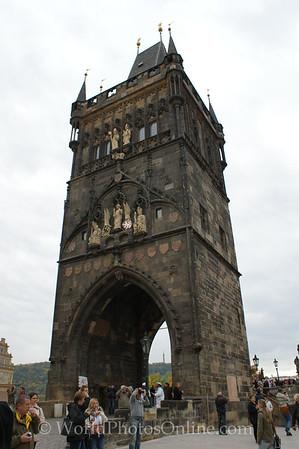 Prague - City Gate at Charles Bridge