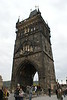 Prague - City Gate at Charles Bridge