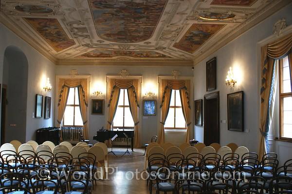 Prague - Prague Castle - Lobkowicz Palace - Concert Hall 1