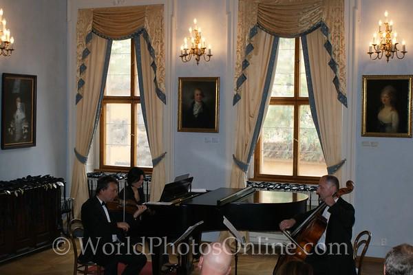 Prague - Prague Castle - Lobkowicz Palace - Concert Hall 2
