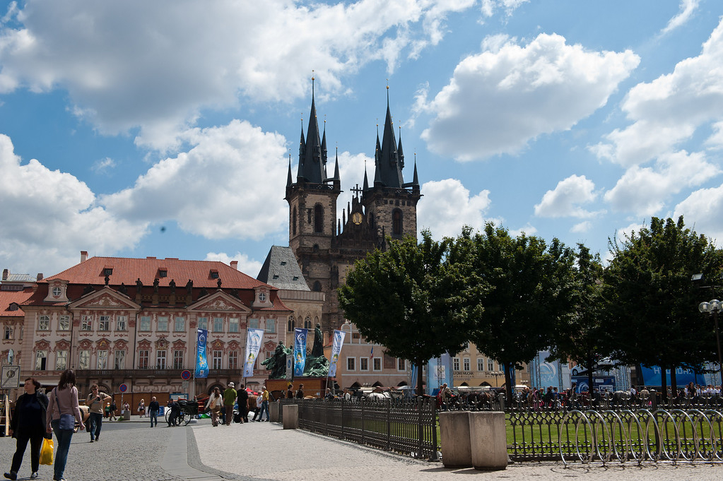Old Town Square, Facing Tyn Church