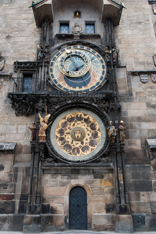 Historic Astronomical Clock, Old Town Square, Prague