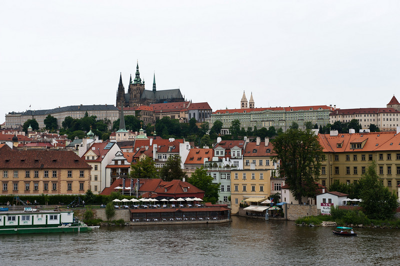 St. Vitus Cathedral, Castle Quarter and Little Quarter