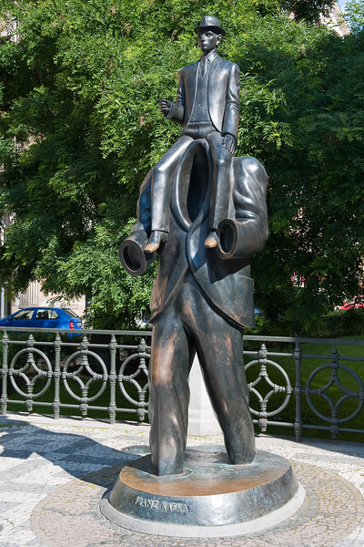 Tribute to Franz Kafka - Headless Man