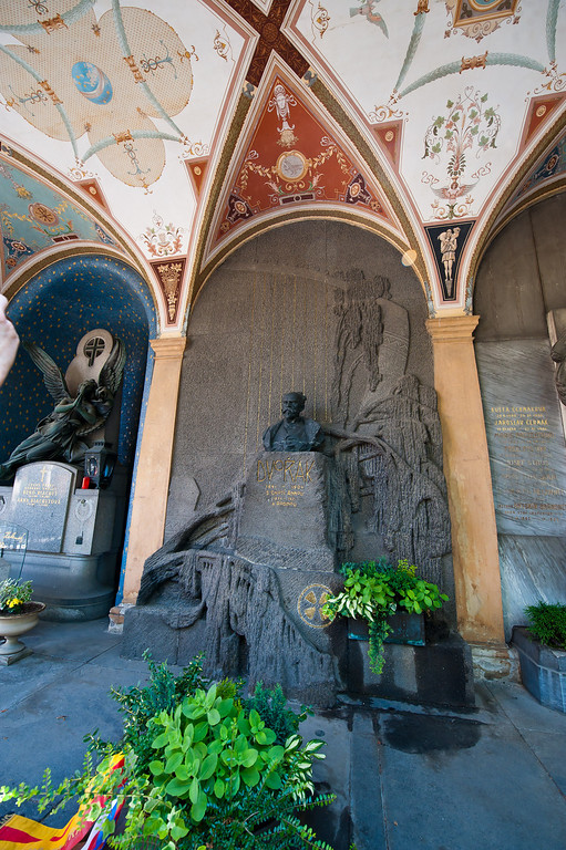 Grave of Antonin Dvorak - Composer