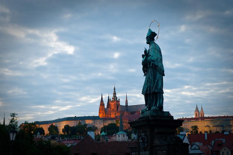Saint John of Nepomuk - Tossed Off the Bridge circa 1300's