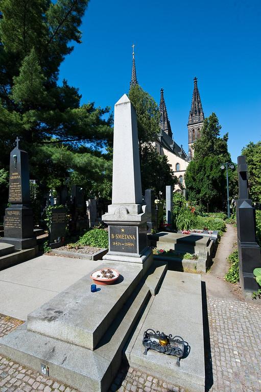 Bedrich Smetana Grave - Best Loved Czech Composer