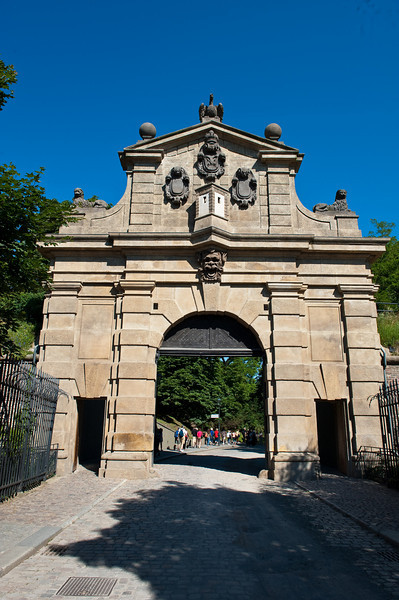 Old Fortress, Tabor Gate - circa 1300s