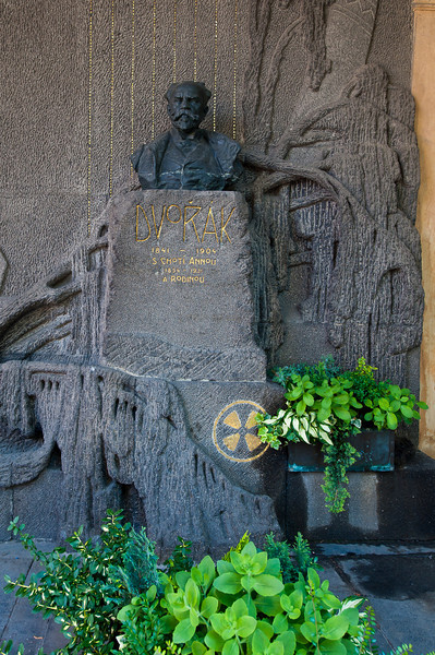 Grave of Antonin Dvorak - Composer