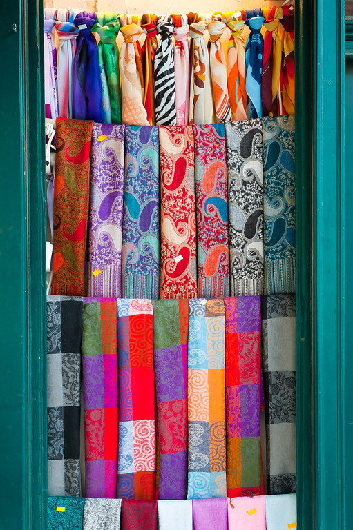 Scarves in the Market