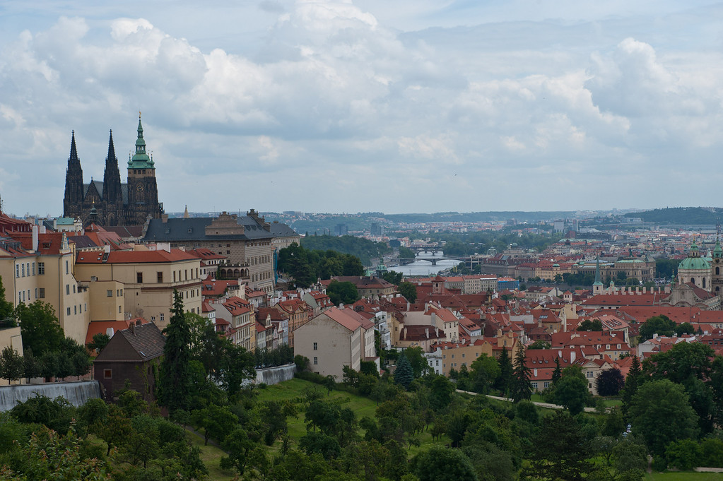 View from Strahov Monastery and Library