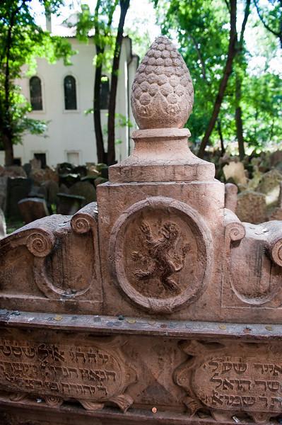 Rabbi Loew's Grave - circa 1520-1609