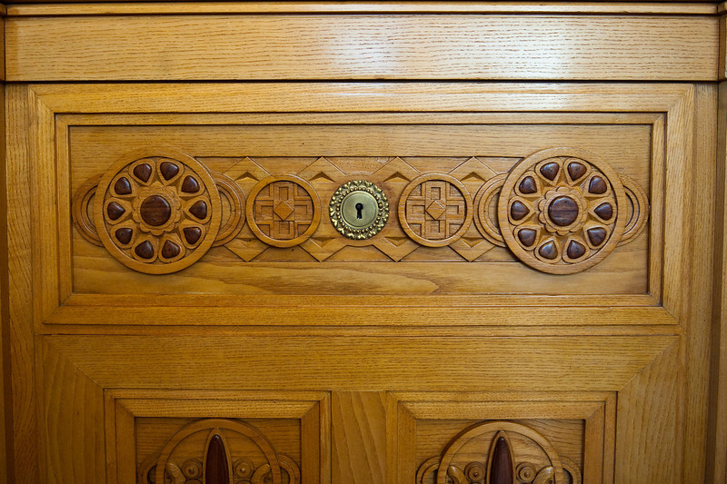 Wood work in Municipal House