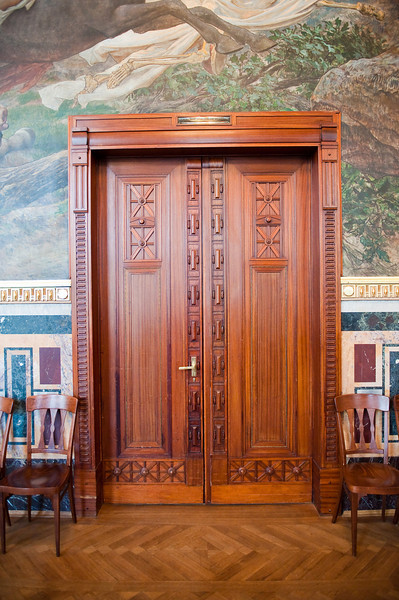 Inlaid Doors, Municipal House