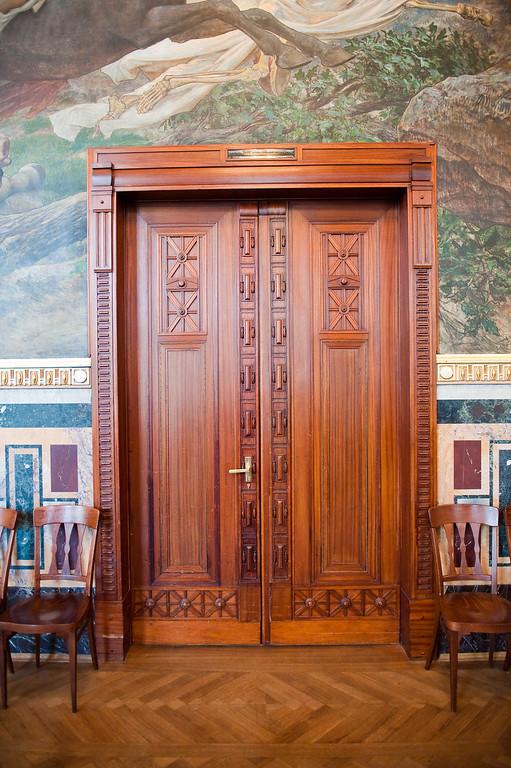 Inlaid Doors, Municipal House