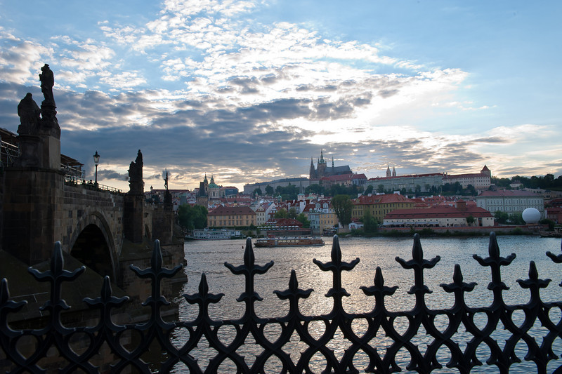 Palace, Vitus Church and CharlesBridge