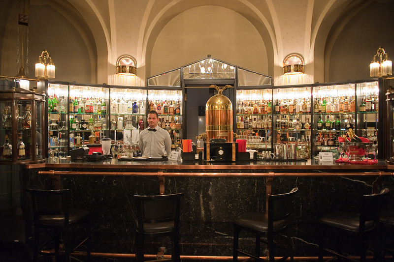 Americky Bar, Municipal House