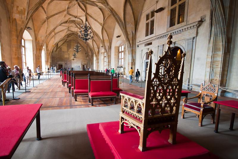 Kings Chair, Old Royal Palace