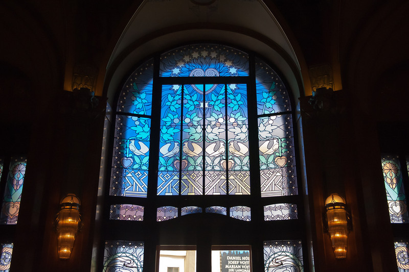 Peace Window - Independance Room