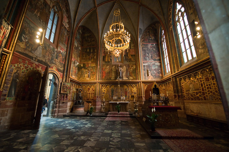 St. Wenceslas Chapel & Tomb