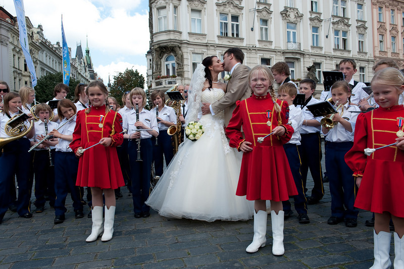 A Wedding on Old Town Square