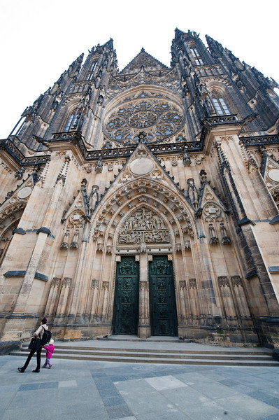 St. Vitus Cathedral - circa 1344, completed 1929