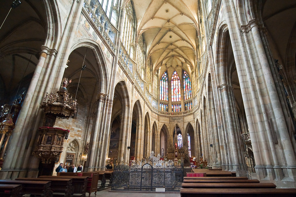 St. Vitus Cathedral - circa 1344 - finished 1929