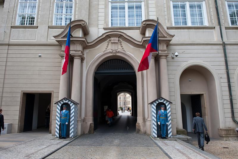 Entrance to Castle Complex