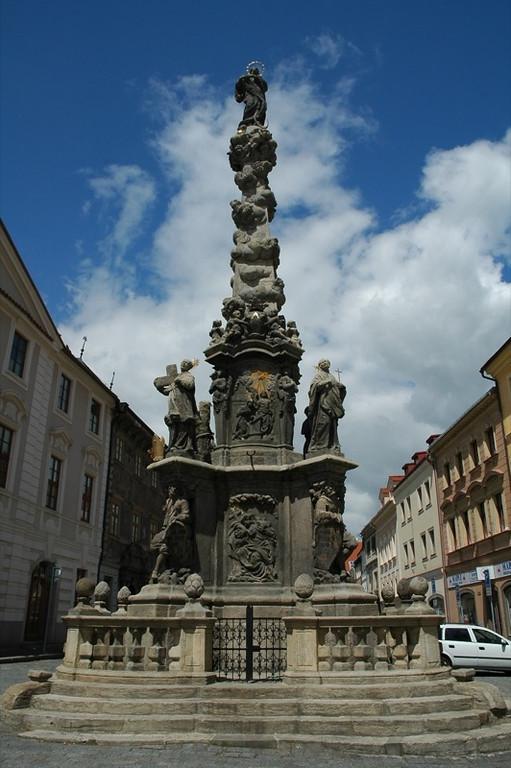 Plague Memorial Column - Kutna Hora, Czech Republic