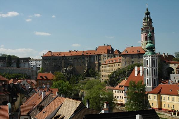 Cesky Krumlov Buildings - Czech Republic