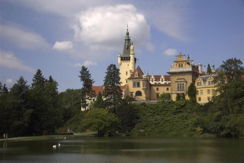 Pruhonice Castle - Prague, Czech Republic