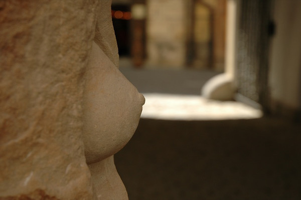 Sculpture - Cesky Krumlov, Czech Republic