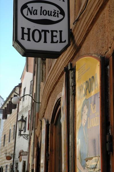 Hotel Na Louzi: Dumplings and Fried Cheese - Cesky Krumlov, Czech Republic