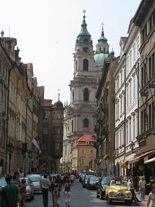 Streets in Prague