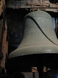 Church bells ring
