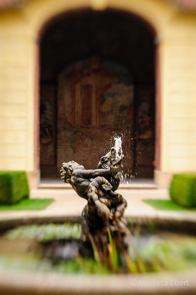 Fountain at Vrtba Garden