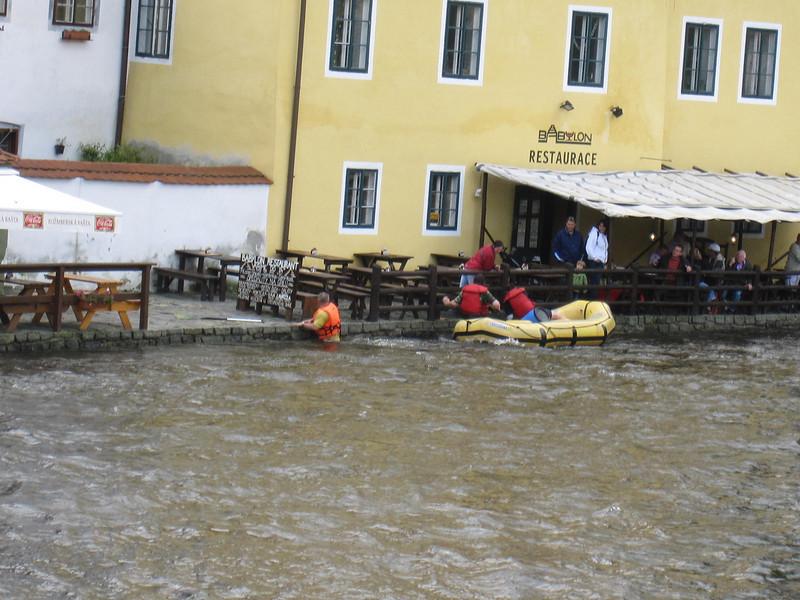 rafting Vltava River